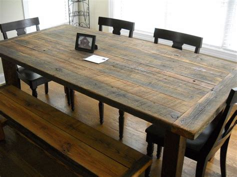 17 best ideas about table with bench on dining
