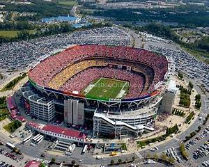 Redskins Field Seating Chart Fedexfield Landover Md Seating Chart View