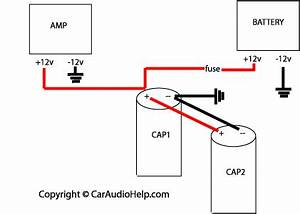 car audio capacitor installation With scosche amp wiring kit with capacitor
