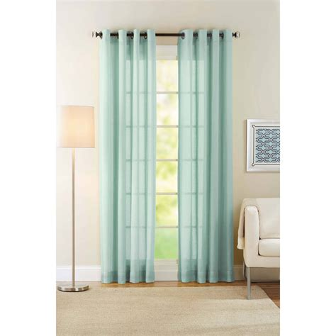 best home fashion inc pom dot sheer grommet top curtain