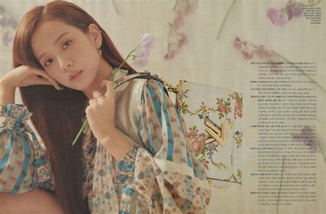 blackpink jisoo elle korea magazine photoshoot april