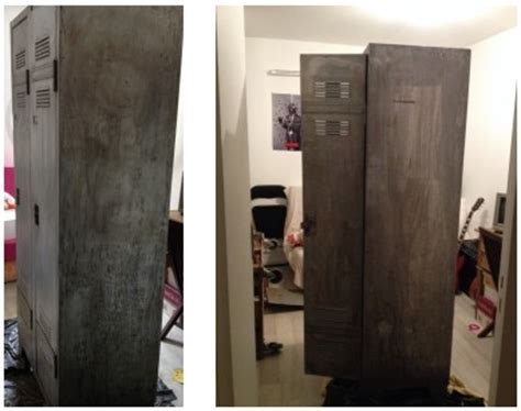 comment decaper une armoire metallique comment r 233 nover un ancien vestiaire m 233 tallique craft my world