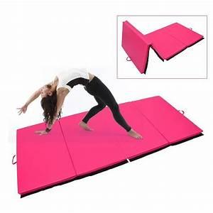 Tapis De Sol Sport : tapis de gymnastique pliable natte de gym matelas fitness ~ Nature-et-papiers.com Idées de Décoration
