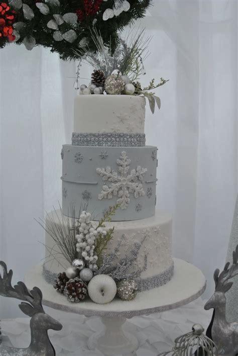 Winter Wonderland Cake Frozen Cake Snowflake Cake