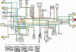 Wiring Diagram Of Motorcycle Honda Xrm 110