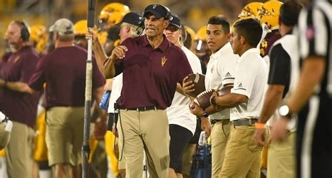 @ASUFootball's Herm Edwards Named FWAA's Super 11 Coach of ...
