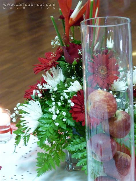 deco table mariage fleurs naturelles mariage en et blanc