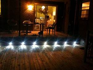 eclairage led pour terrasse exterieur wasuk With idees de terrasse exterieur 1 5 idees originales pour leclairage exterieur travaux