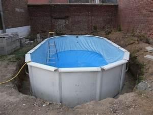 Enterrer Une Piscine Hors Sol : kinderzimmers terrasse bois piscine hors sol zoom 3 ~ Melissatoandfro.com Idées de Décoration