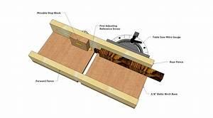 DIY Woodworking Tenoning Jig Plans Plans Free