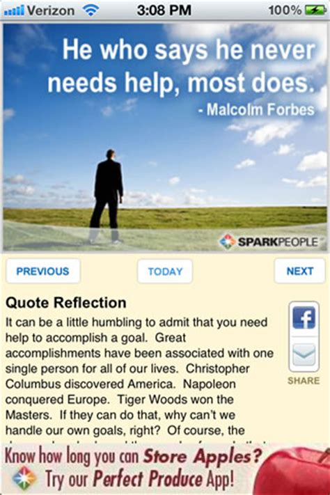 inspirational quote   day app sparkpeople sparkpeople