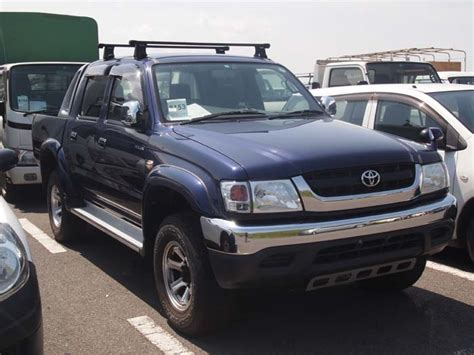 Toyota Hilux Double Cabin 4wd  Japanese Used Cars