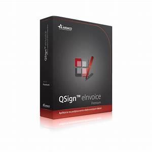 Qsign einvoice premium for Einvoice