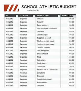 Budget Template Excel