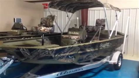 Aluminum Boats For Sale In Nc by 2015 Sea Ark Rxjt186 Jet Welded Aluminum Fishing Boat Lake