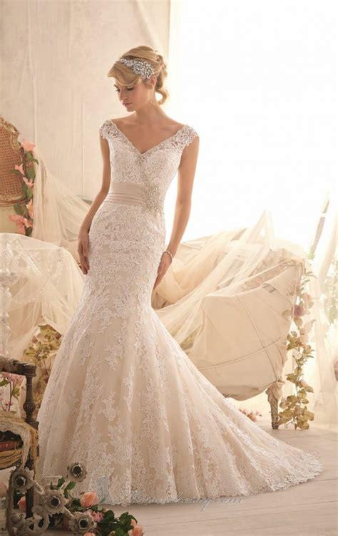 20 Lace Wedding Dresses For Romantic Brides Style Motivation