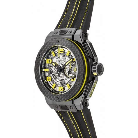 Beyond being a sponsor of special events, since 2011, hublot has been the 'official timekeeper' of ferrari. Hublot Big Bang 45MM Unico Ferrari 401CQ0129VR