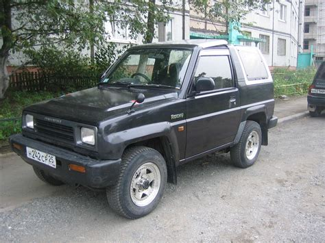 1992 daihatsu rocky wallpapers 1 6l gasoline automatic