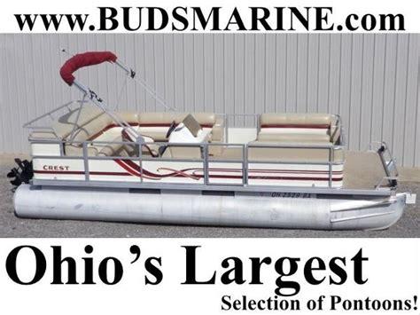 1997 Crest Pontoon Boat by 1997 Crest Pontoon Boats For Sale