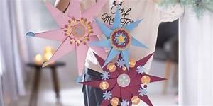 Comment Faire Une étoile En Papier : comment faire une toile en papier facilement marie claire ~ Nature-et-papiers.com Idées de Décoration