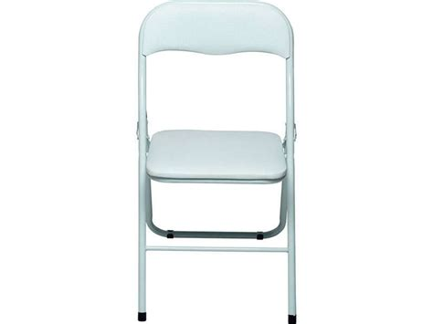 conforama chaise pliante chaise pliante alizee ii coloris blanc chez conforama