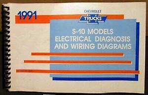 1991 Chevrolet Electrical Wiring Diagram Service Manual S