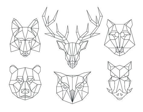 temporary tattoos  easytatt geometric animals temporary
