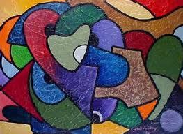 Abstract Shapes Definition by Learning Agreement W C 31st January And Cubism 2ab S