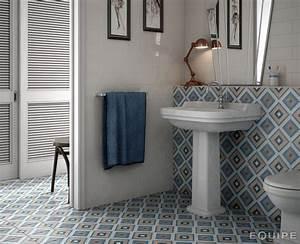 Art Et Carrelage : carrelage sol et mur c ciment imitation art deco 8 ~ Melissatoandfro.com Idées de Décoration
