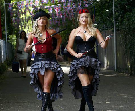 royal ascot bid   scantily clad babes