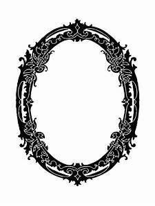 Oval Frame Decorative Clipart Free Stock Photo - Public ...