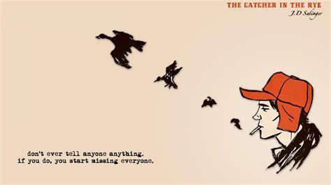 quotes  catcher  rye wallpaper