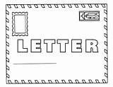 Letter Coloring Pages Letter3 sketch template