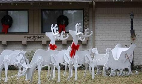 Wooden Christmas Yard Decorations