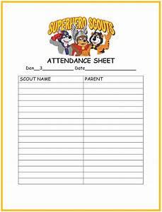 Meeting Attendance List