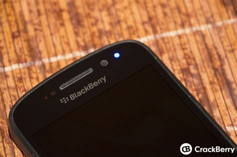 blue led errors on your blackberry 10 device