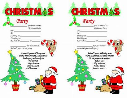 Christmas Clipart Invitations Party Clipground Cliparts