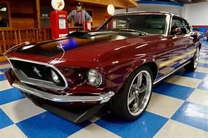 1969 Ford Mustang Mach 1 – Royal Maroon / Black – A&E Classic Cars