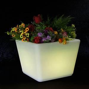 Pot Fleur Lumineux : pot de fleurs lumineux 27 x 35 cm sur grossiste chinois import ~ Nature-et-papiers.com Idées de Décoration