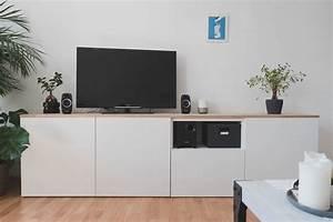 Ikea Besta Türen : ikea best diy sideboard f rs wohnzimmer ~ Orissabook.com Haus und Dekorationen