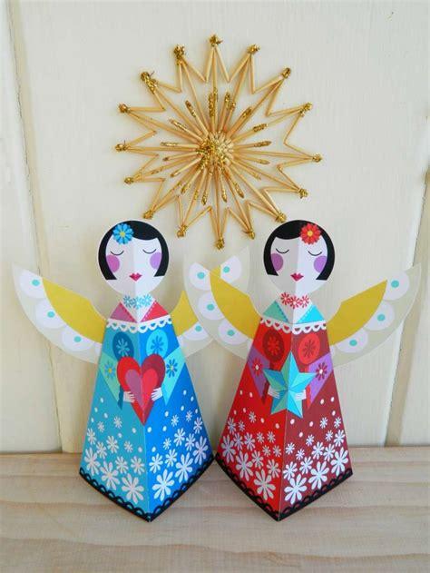 lavoretti natale crea degli angeli  decorare la tua