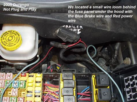 hemi dodge durango trailer brake controller install