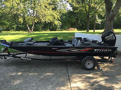 Tritoon Boats For Sale In Kentucky by 1990 Triton 17 Tx Boats For Sale In Kentucky