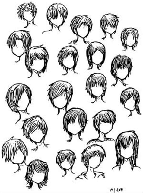 Cool Anime Hairstyles by S Hair Style Cool Anime Boy Hairstyles