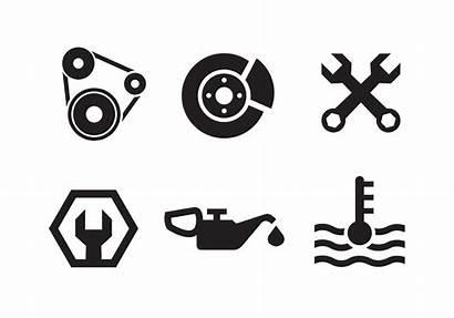 Engine Icon Vector Piston Mechanic Icons Svg