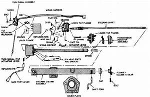 I Need Diagram Of Steering Column Of 1987 Ford F150 Tilt Wheel