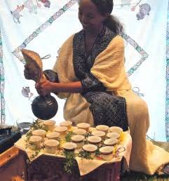 Traditional Ethiopian Coffee Ceremony Brewed Up by Chef