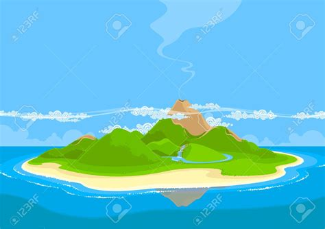 Pencil And In Color Coast Clipart