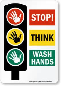 Stop Sign Wash Your Hands