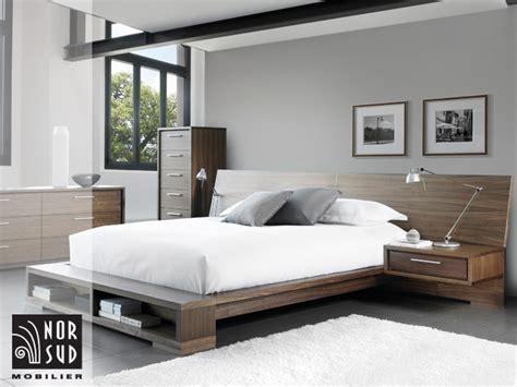 chambre a coucher contemporaine mobilier nor sud mobilier de chambre à coucher contemporain
